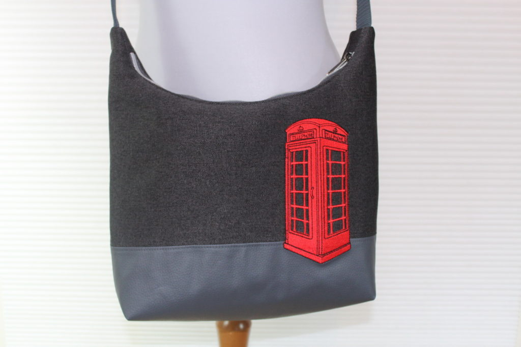 Angies Kleiderschrank, Alles Drin Tasche, britische Telefonzelle