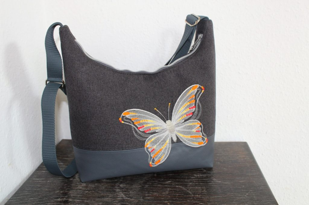 Angies Kleiderschrank, Umhängetasche, Schmetterling